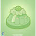 Kawaii Lime Sponge Cake Vector by Official Kawaii Universe
