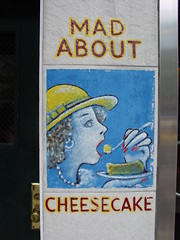 NYC - Lower East, Eileen's cheesecake