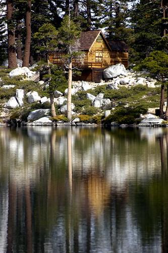 Log Cabin At Angora Lake Flickr Photo Sharing