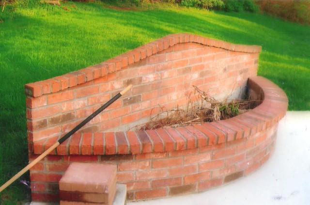 Fire Brick Mortar : Brick fire pit flickr photo sharing