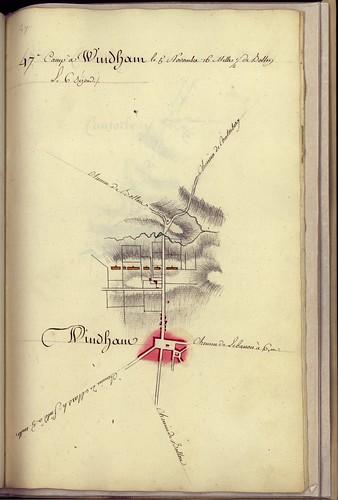 Camp à Windham, le 5 Novembre, 16 milles 1/2 de Bolton -- 1782. by uconnlibrariesmagic