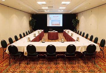Dallas Marriott Suites Market Center Meeting Room