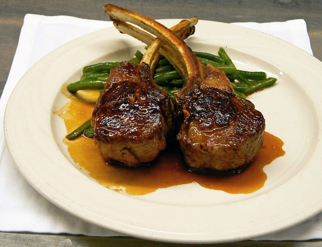 Keens Double Lamb Chops | Flickr - Photo Sharing!