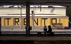Stazione ferroviaria Trento Italy