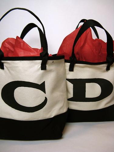 #118 - Monogrammed Gift Bags