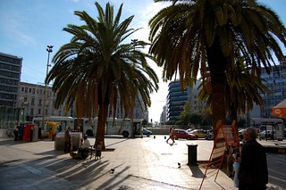 Image of Omonia Square near Dimos Athens. greece 2008 athen