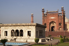 Badshahi Mosque Entrance