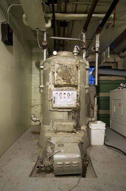 Replace Old Boiler New Combie Controller Room Theren