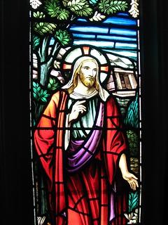 Image of Jesus Christ. toronto church window jesus stainedglass doorsopen metropolitanunited