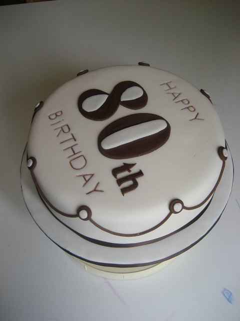 80th Birthday Cake Flickr Photo Sharing