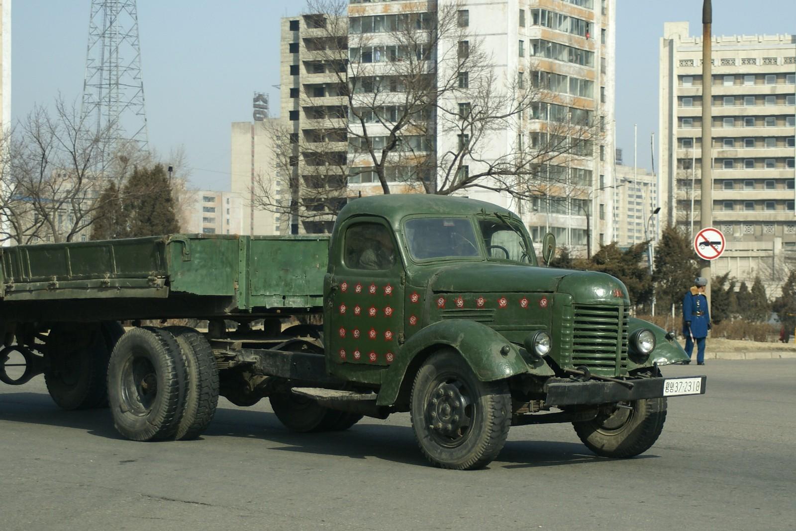 Veteran lorry, Pyongyang