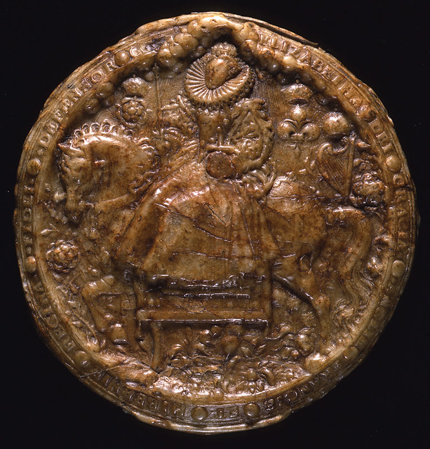 Great Seal of Elizabeth I