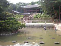 Royal library (Gyujanggak) and reading room (Juhamnu), Secret Garden, Changdeokgung, Seoul