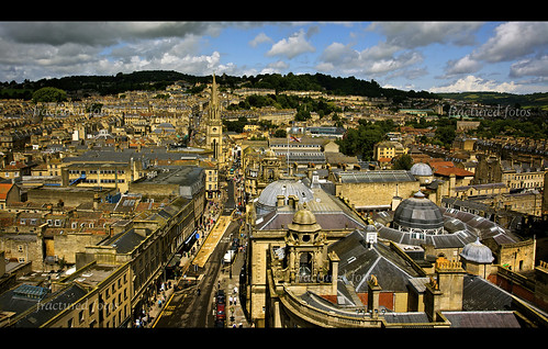 From the top of Bath Abbey