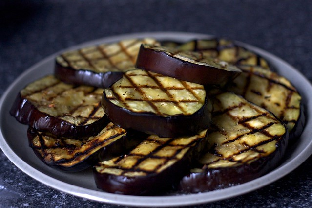 Grilled Eggplant Slices Flickr Photo Sharing