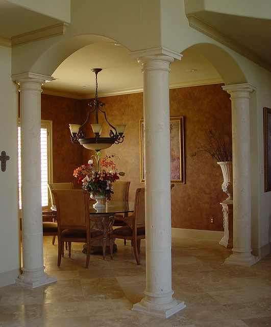 Tuscan Columns Arched Dining Room Flickr Photo Sharing