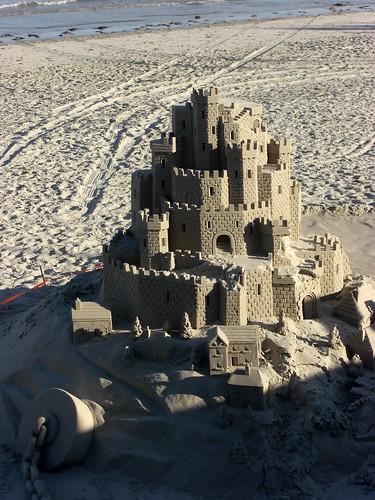 A Proper Sand Castle on Jersey