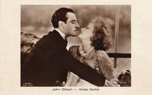 Greta Garbo and John Gilbert in A Woman of Affairs (1928)