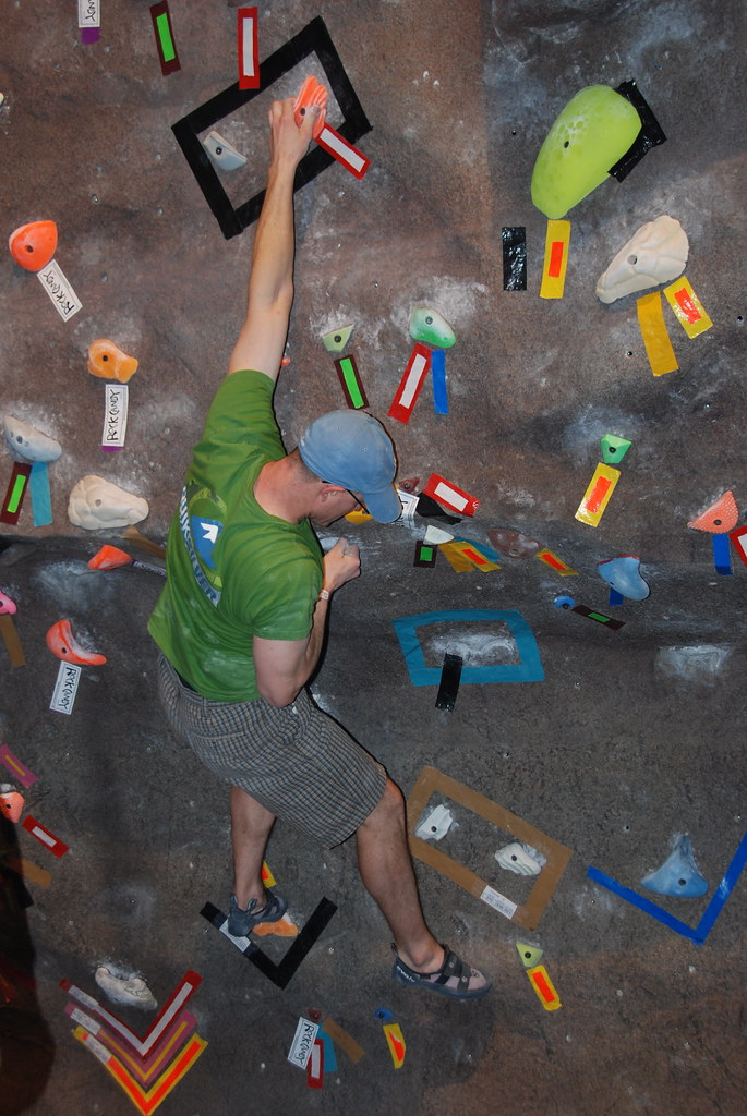 The Adventure Summit Climbing Wall