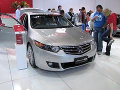 family car(0.0), automobile(1.0), automotive exterior(1.0), wheel(1.0), vehicle(1.0), automotive design(1.0), auto show(1.0), honda(1.0), bumper(1.0), sedan(1.0), land vehicle(1.0), luxury vehicle(1.0), honda accord(1.0),