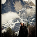 Ivana in Yosemite with Half Dome