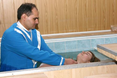 primul botez bunavestirea