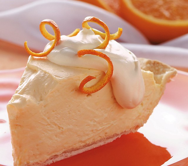 Orange Cheesecake Pie Recipe | Flickr - Photo Sharing!