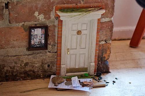 Khyber pass cafe how to make a fairy door for Homemade elf door