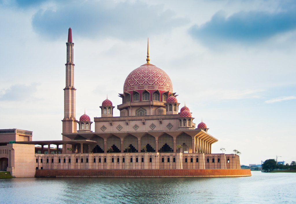 Putrajaya Mosque on Water