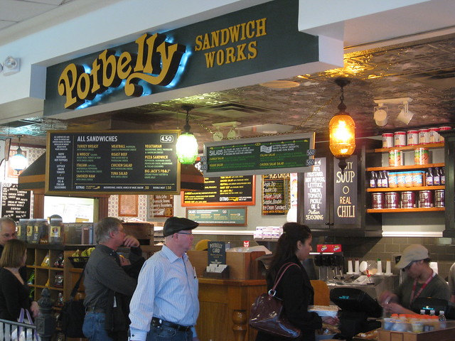 Potbelly Sandwich Works, National Harbor