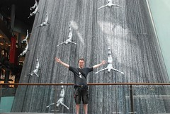 Waterfall @ The Dubai Mall - Dubai, United Arab Emirates
