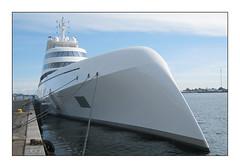 "Starck-designed yacht ""A"""