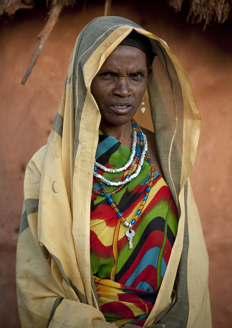 Veiled Borana woman - Kenya