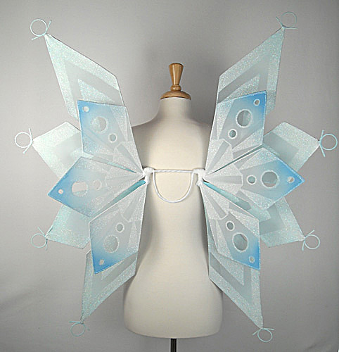 Snowflake fairy wings | Flickr - Photo Sharing!