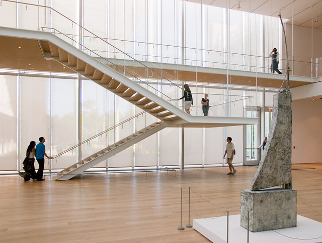 Art institute chicago modern wing flickr photo sharing for Modern stairs tiles design building work latest technology