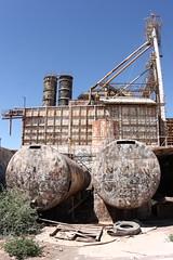 Abandoned K-Bar fire log factory in Brawley, CA