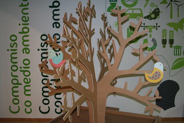 Rbol 5 cart n flickr photo sharing - Como hacer un arbol de navidad de carton ...