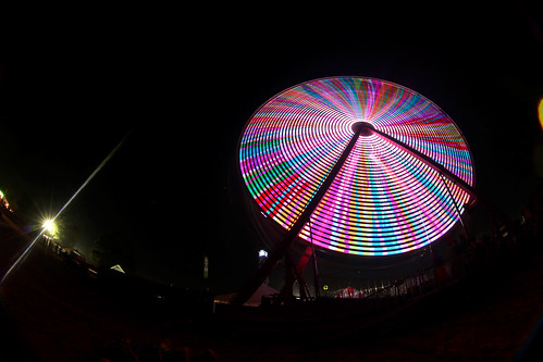 Fisheye Ferris Wheel - Bonnaroo 2011