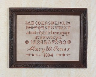 Mary W Jones Sampler