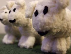dog(0.0), sheeps(0.0), sheep(0.0), pet(0.0), bear(0.0), animal(1.0), textile(1.0), mammal(1.0), plush(1.0), stuffed toy(1.0), toy(1.0),