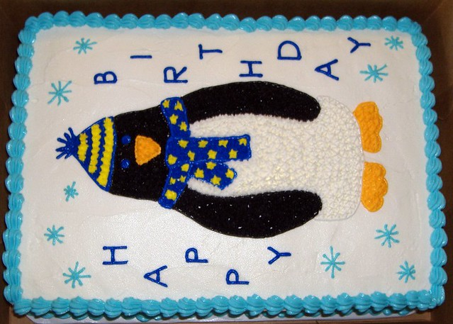 Easy Penguin Cake