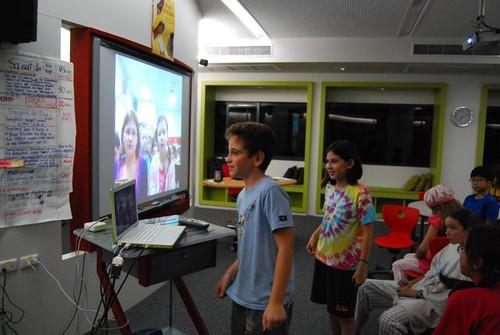 Skype with Benton Elementary School
