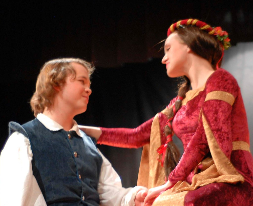 Alex and Juliet as Romeo and Juliet