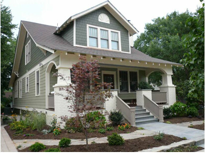 House Colors moreover Adams House Craftsman Exterior Salt Lake City additionally Behr Exterior Paint likewise Plano Y Diseno De Hermosa Casa Clasica  lia Con 3 Dormitorios moreover Classic Colonial Paint Color Ideas. on exterior color schemes craftsman house