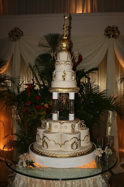 Arabian Wedding Cake