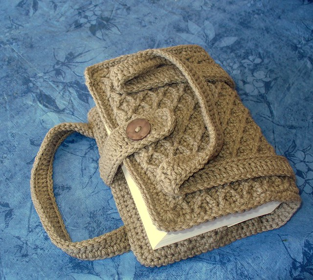 Crocheted Book/Bible Cover Paperback