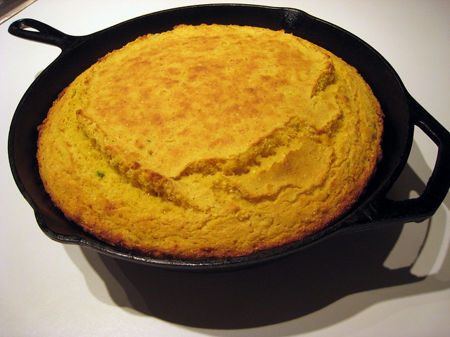 Cast Iron Cornbread | Flickr - Photo Sharing!
