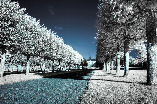 Ulriksdal Slott in Infrared
