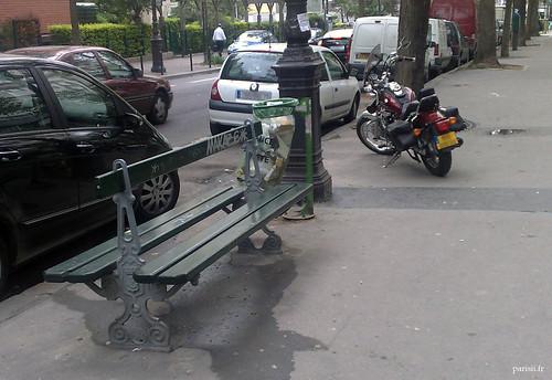 bancs publics parisiens envie de s asseoir dessus pas moi le blog de paris. Black Bedroom Furniture Sets. Home Design Ideas