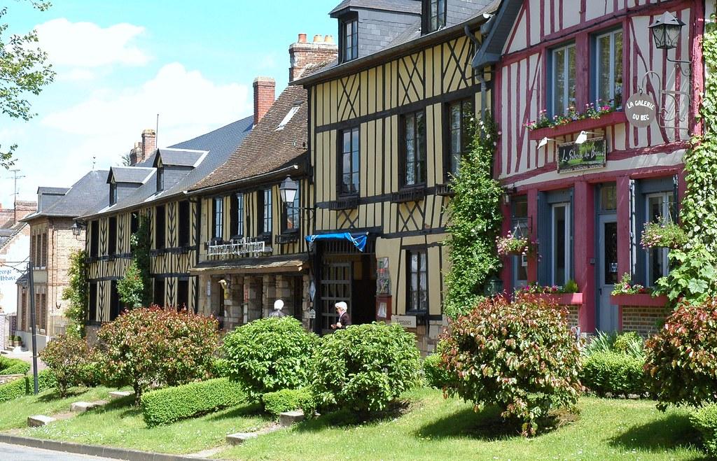 Le Bec-Hellouin,Eure,France